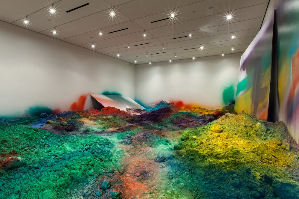 """Installation view from """"Wunderblock"""" at the Nasher Sculpture Center, Dallas."""