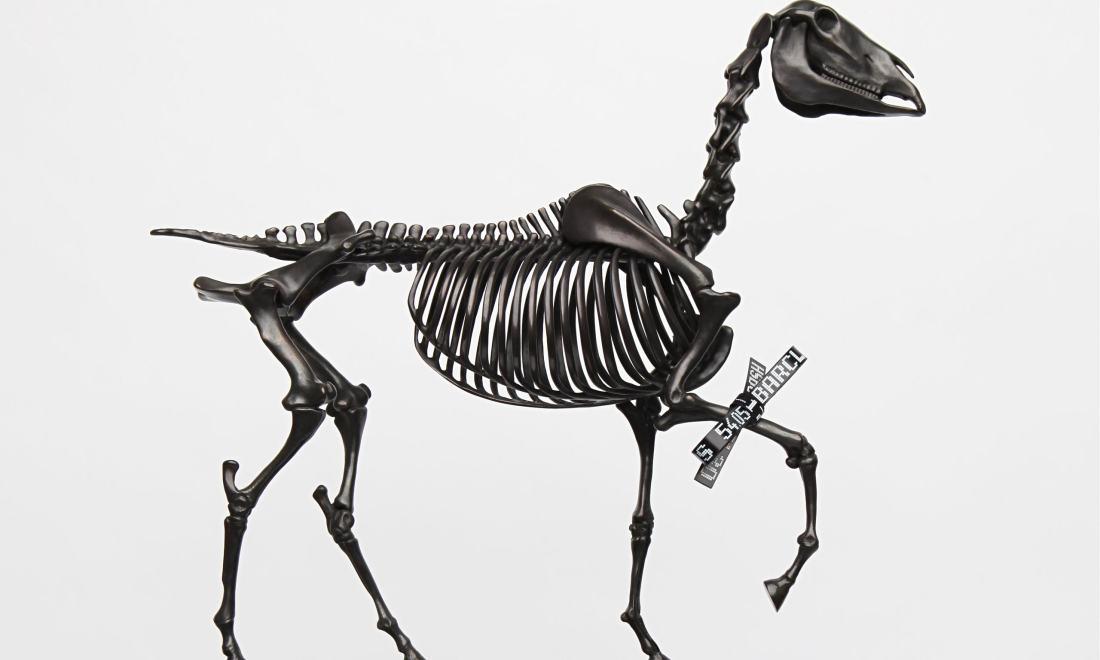 Hans Haacke, Gift Horse (maquette), 2014.