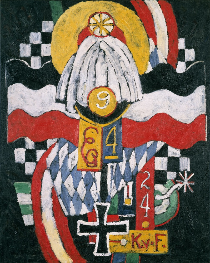 Marsden Hartley, Painting No. 47, Berlin, 1914-15. Collection of the Hirshhorn Museum and Sculpture Garden, Washington.
