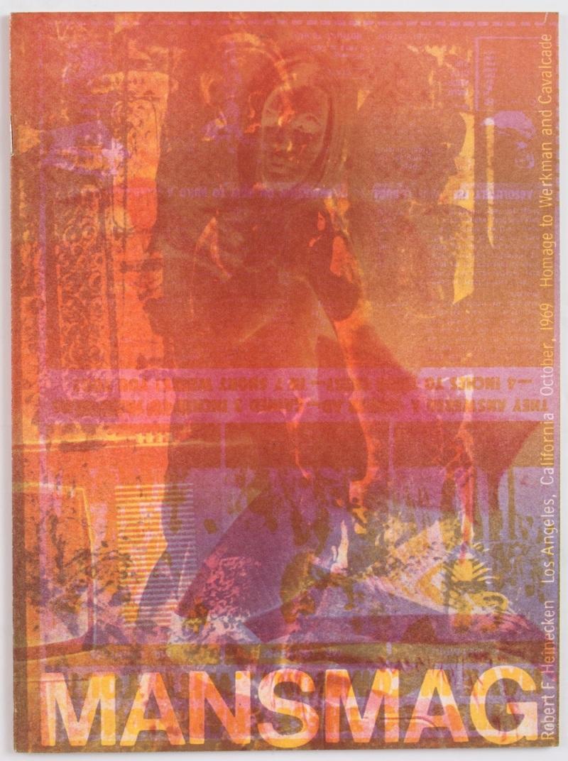 Robert Heinecken, MANSMAG: Homage to Werkman and Cavalcade. 1969.