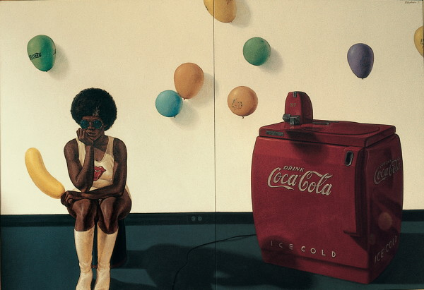 Barkley L. Hendricks, Arriving Soon, 1973.