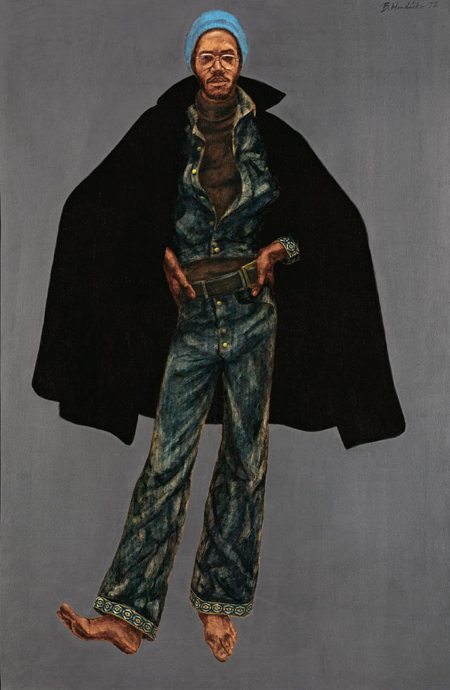 Barkley L. Hendricks, George Jules Taylor, 1972. Collection of the National Gallery of Art, Washington.