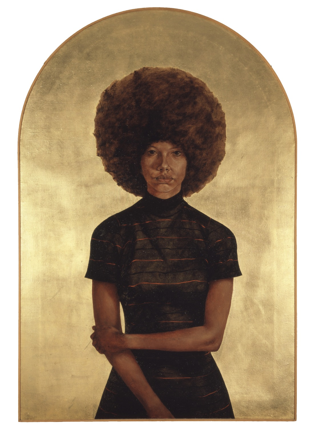 Barkley L. Hendricks, Lawdy Mama, 1969. Collection of The Studio Museum in Harlem, New York.