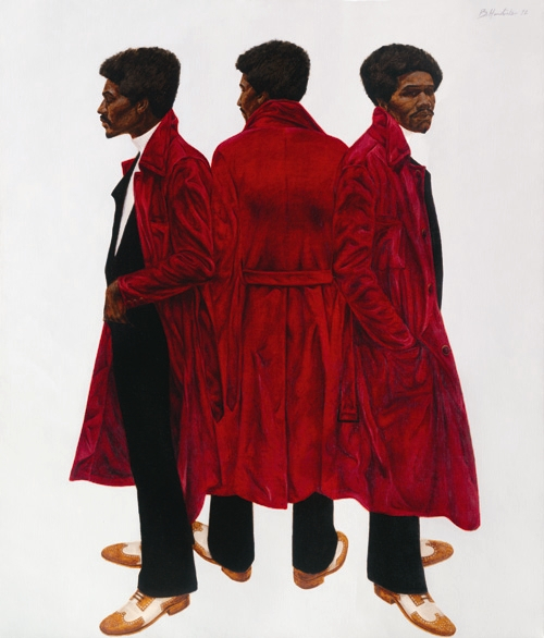 Barkley Hendricks, Sir Charles, alias Willie Harris, 1972. Collection of the National Gallery of Art, Washington.