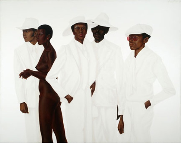 Barkley L. Hendricks, What's Goin On, 1974.