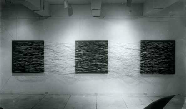 Eva Hesse, Metronomic Irregularity II, 1966.