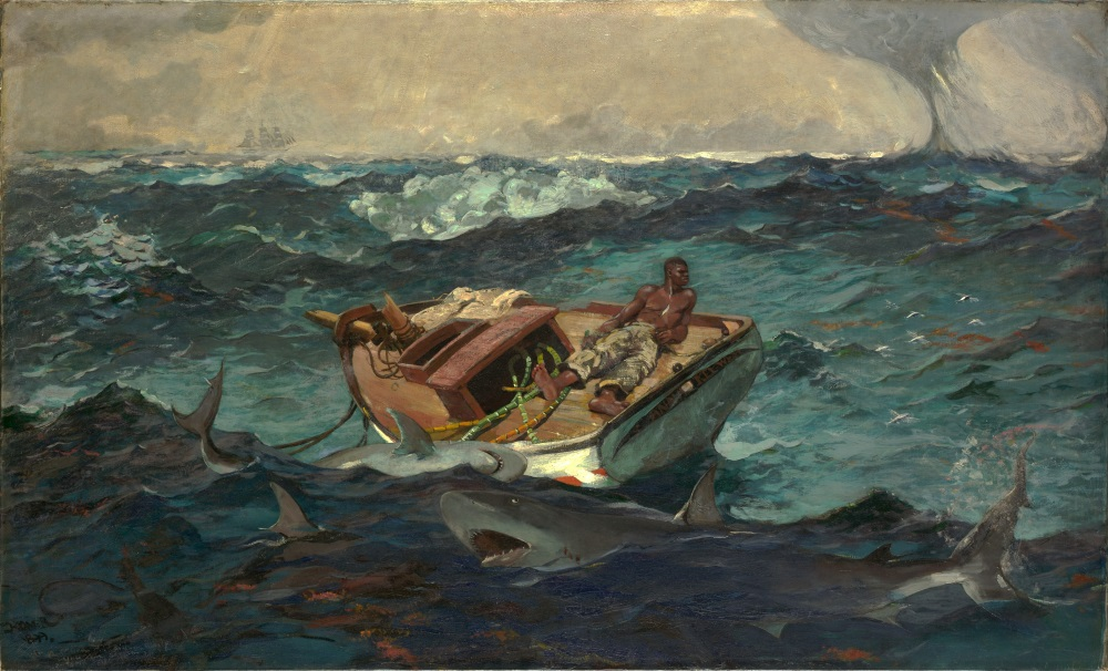 Winslow Homer, The Gulf Stream, 1899. Collection of the Metropolitan Museum of Art, New York.
