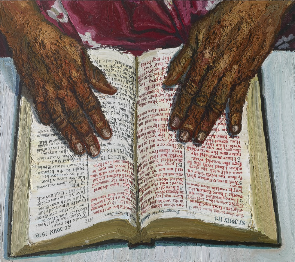 Sedrick Huckaby, Her Hands on the Word, 2008.