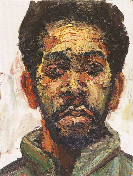 Sedrick Huckaby, Self-Portrait, 2004.