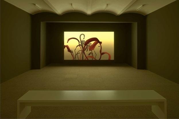 Installation view of Saskia Olde Wolbers' Pareidolia.