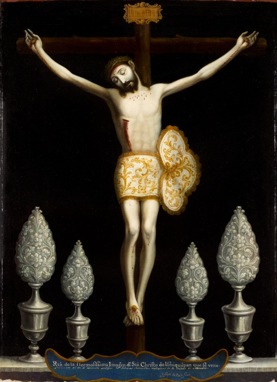 "Jose de Paez, Christ of Ixmiquilpan (El Señor de ""Santa Teresa""), c. 1770."