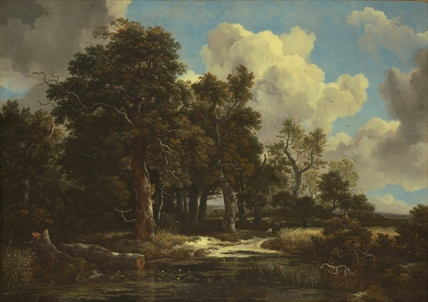 Jacob van Ruisdael, Edge of a Forest with a Grainfield, ca. 1656. Collection of the Kimbell Art Museum, Fort Worth.