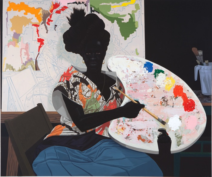 Kerry James Marshall, Untitled, 2009.
