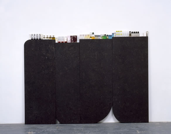 Gabriel Kuri, Complimentary Cornice, 2008.