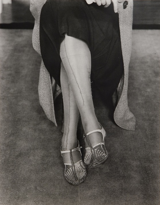 Dorothea Lange, Mended Stockings, 1934.