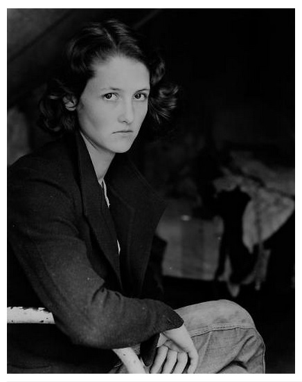 """Dorothea Lange, """"'Ruby' from Arkansas"""" from Lange's """"Drought Refugees"""" series, ca. 1935."""