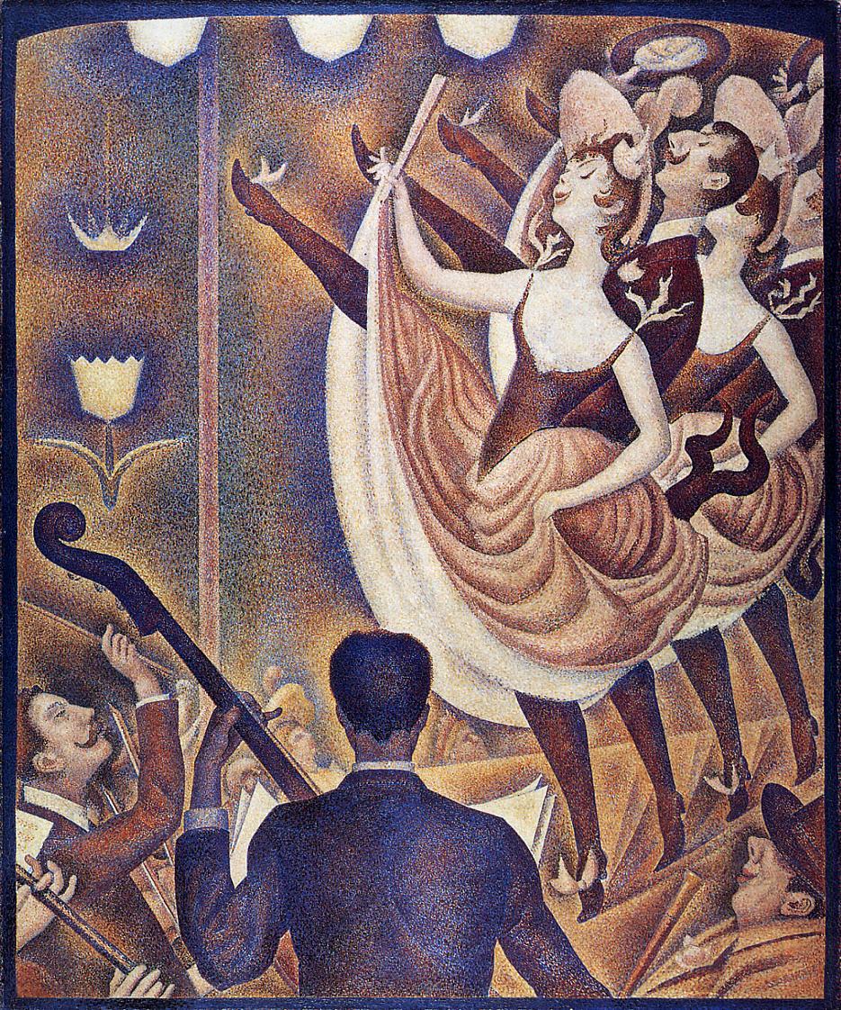 Georges Seurat, Le Chahut, 1889-90.