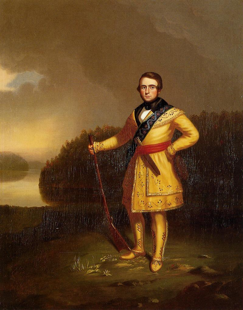George Caleb Bingham, Portrait of Leonidas Wetmore, 1839-40.
