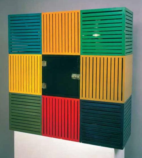 Sol LeWitt, Nine Boxes, 1963.