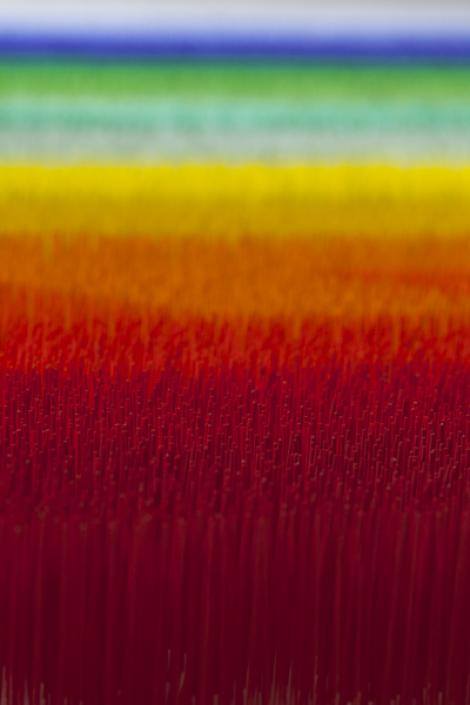Liza Lou, Color Field (detail), 2013.