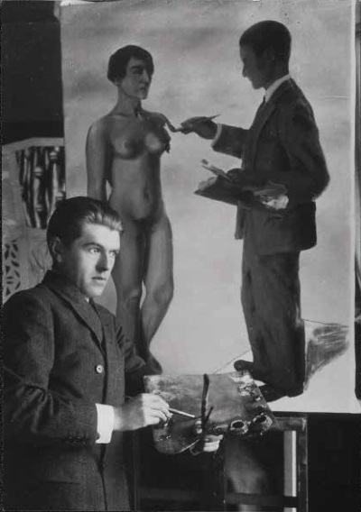 "Anonymous, Magritte and ""Attempting the Impossible,"" 1928."