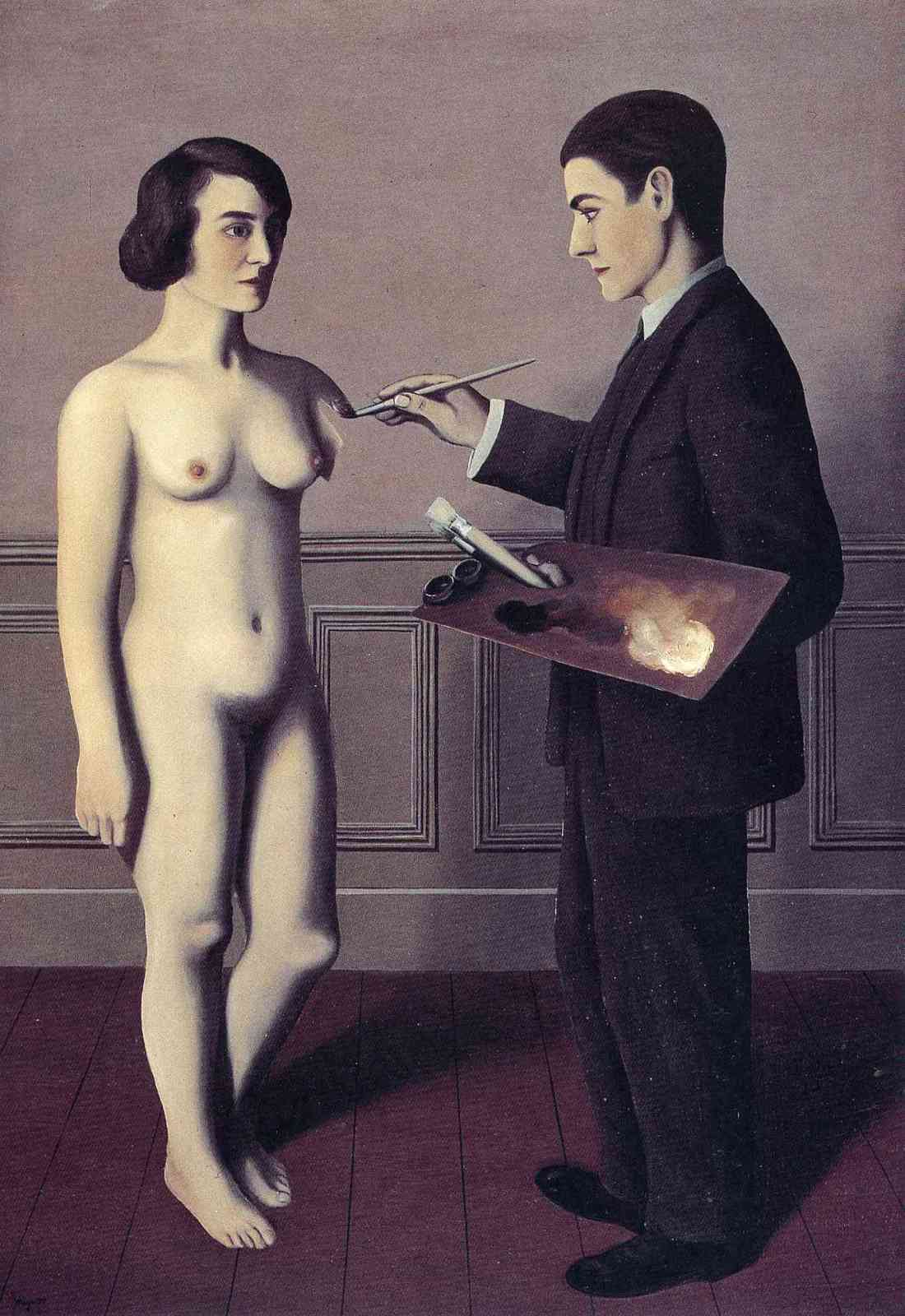 Rene Magritte, Attempting the Impossible, 1928. Collection of the Toyota Municipal Museum of Art, Japan.