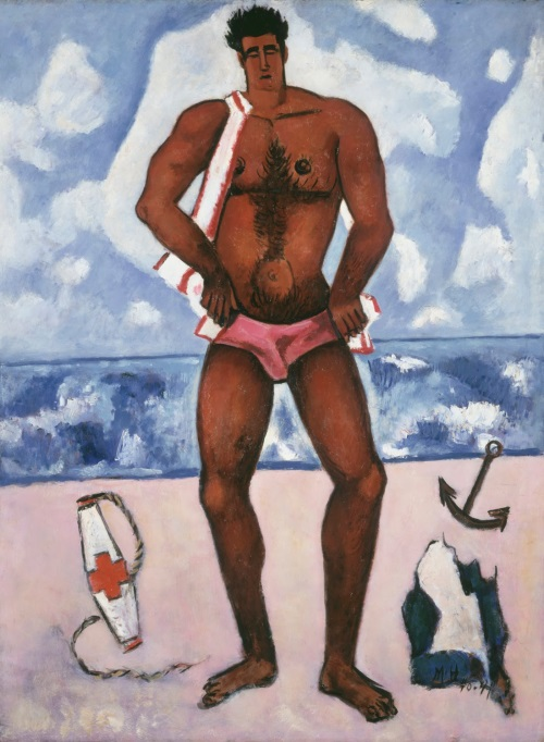 Marsden Hartley, Canuck Yankee Lumberjack at Old Orchard Beach Maine, 1940-41.