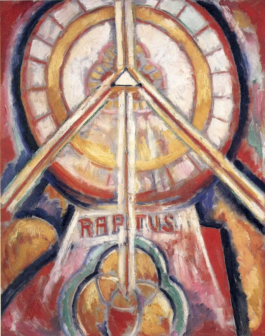 Marsden Hartley, Raptus, c. 1913.