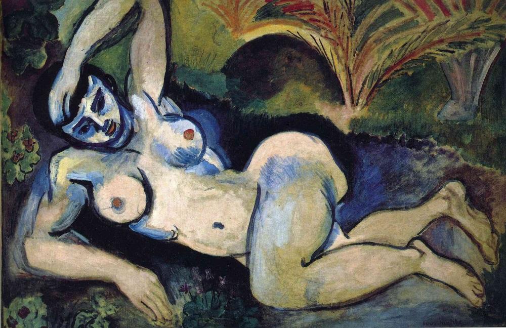 Henri Matisse, Blue Nude (Memory of Biskra), 1907.