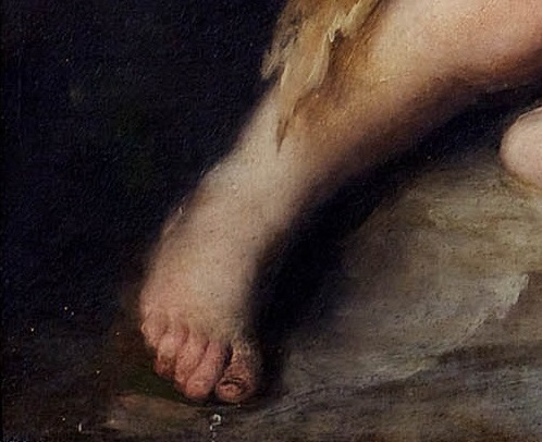 Murillo, The Infant St. John the Baptist in the Wilderness (detail), ca. 1670. Collection of Meadow Brook Hall, Oakland University, Rochester, Mich.