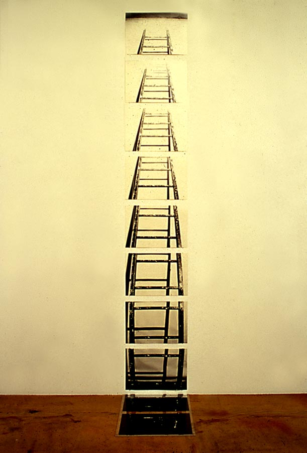 Michael Snow, Of a Ladder, 1971/1999. Collection of the Albright-Knox Art Gallery, Buffalo.