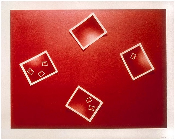 Michael Snow, Red 5, 1974. Collection of the National Gallery of Canada, Ottawa.