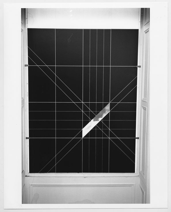 Michael Snow, Sight, 1968. Collection of the Vancouver Art Gallery.