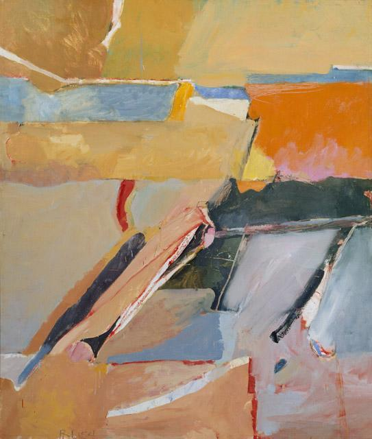 Richard Diebenkorn, Berkeley #8, 1954. Collection of the North Carolina Museum of Art, Raleigh.