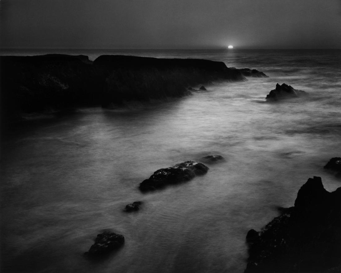 Wynn Bullock, Mendocino Coast, 1968.