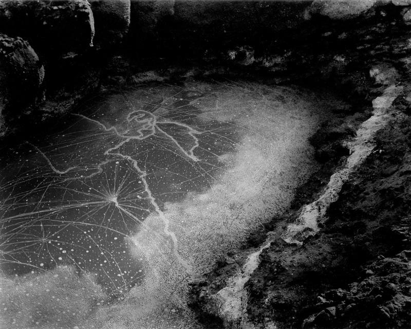 Wynn Bullock, Point Lobos Tide Pool, 1957.