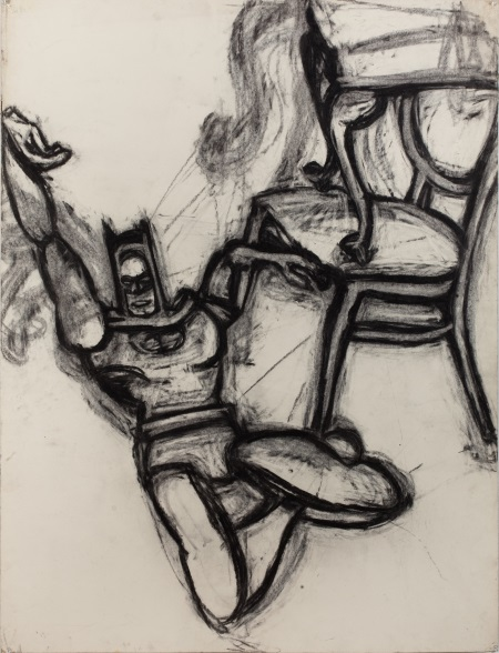 Joyce Pensato, Batman Chair I, 1976.