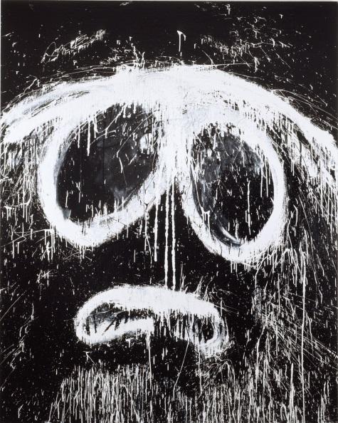 Joyce Pensato, Evil Stan, 2007.