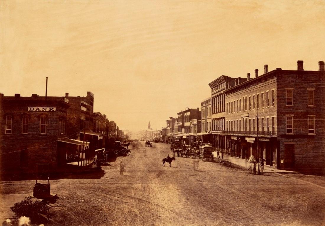 Alexander Gardner, Lawrence, Kansas, 1867.