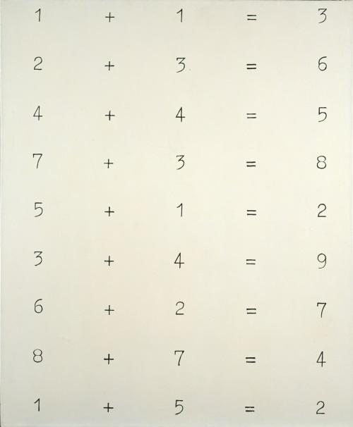 Sigmar Polke, Solutions V, 1967.