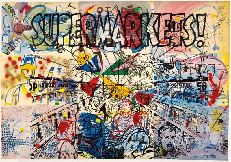 Sigmar Polke, Supermarkets, 1976.