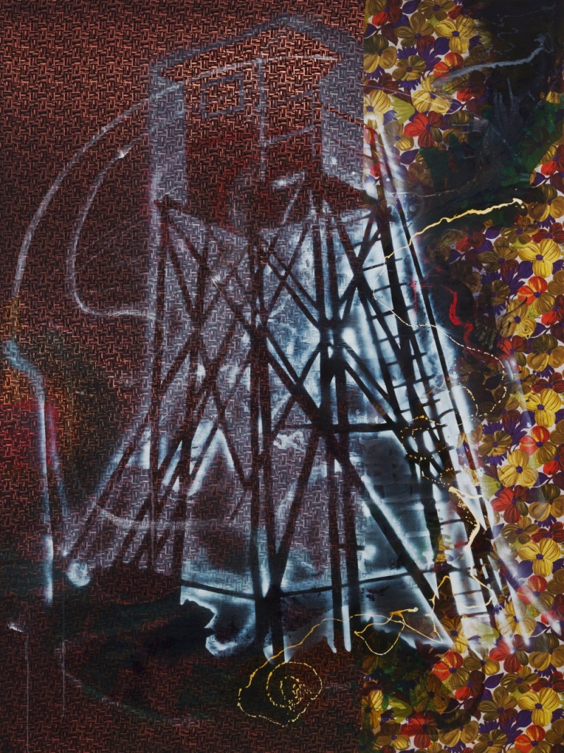 Sigmar Polke, Watchtower, 1984. Collection of the Museum of Modern Art, New York.