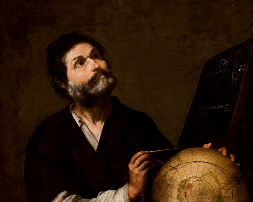 Ribera, The Astronomer, 1638.