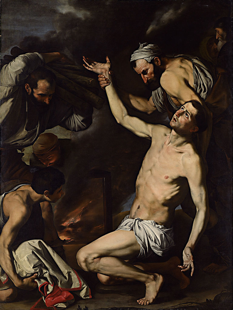Ribera, The Martyrdom of St. Lawrence, 1620-24. Collection of the National Gallery of Australia, Canberra.