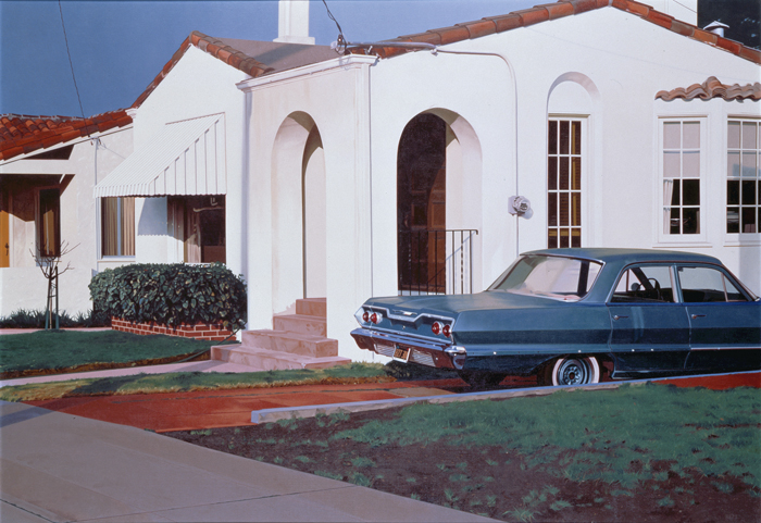 Robert Bechtle, '63 Bel Air, 1973. Collection of the Modern Art Museum of Fort Worth.