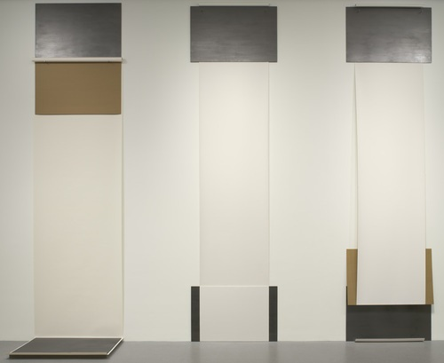 Dorothea Rockburne, A, C and D from Group/And, 1970. Collection of the Museum of Modern Art, New York.