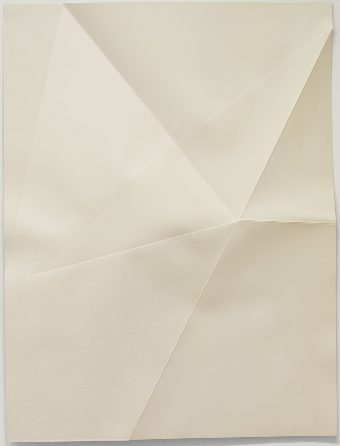 Dorothea Rockburne, Untitled from Locus, 1972. Collection of the Museum of Modern Art, New York.