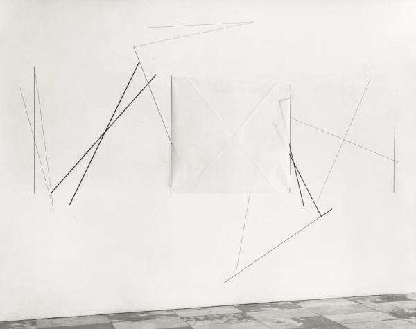 Dorothea Rockburne, Neighborhood, 1973. Collection of the Museum of Modern Art, New York.
