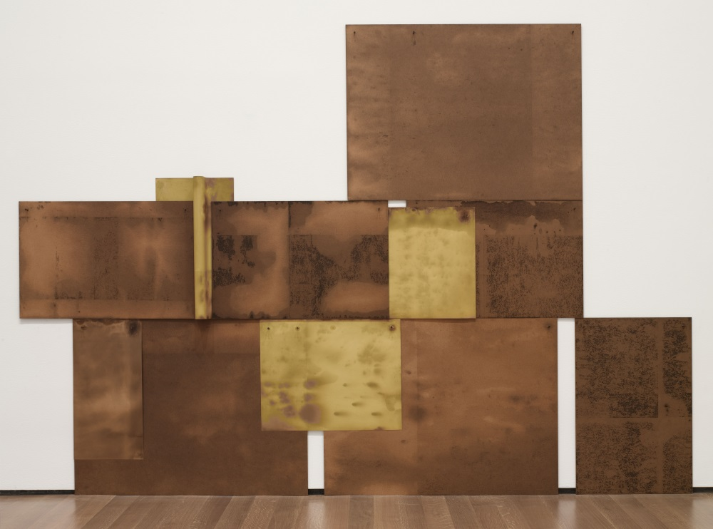 Dorothea Rockburne, Scalar, 1971. Collection of the Museum of Modern Art, New York.