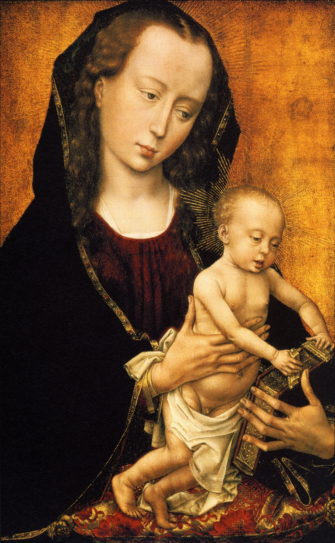 Rogier van der Weyden, Virgin and Child, ca. 1460. Collection of The Huntington Library, Art Collection and Gardens.